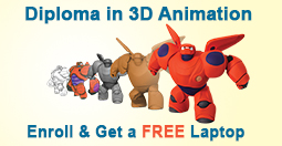 Diploma in 3D Animation in Pune