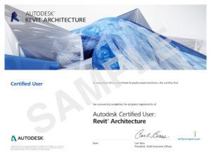 Autodesk-REVIT Certificate