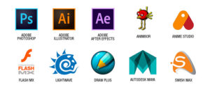 animation software collection