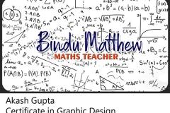 Akash Gupta Visiting Card 2
