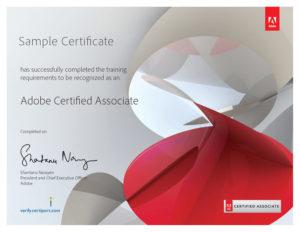Adobe-Sample Certificate