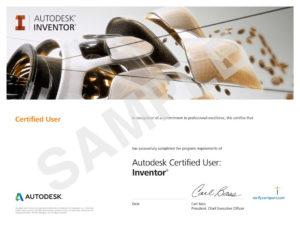 Autodesk-Inventor Certificate