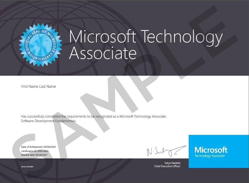 MOS-Certificate
