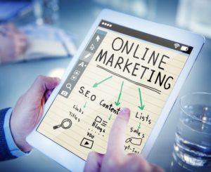 online marketing structure