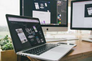 Website designing structure