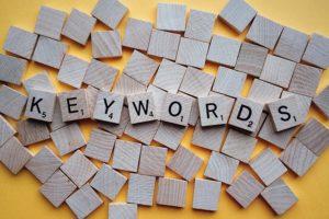 keywords for website